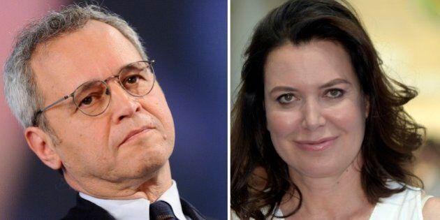 Enrico Mentana contro Sabina Guzzanti sui social. L'attrice: