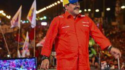 Maradona sta con Maduro: