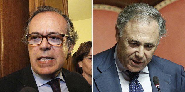 Il precedente di Salvatore Torrisi: quando il Pdl fece eleggere Riccardo Villari del Pd in Vigilanza