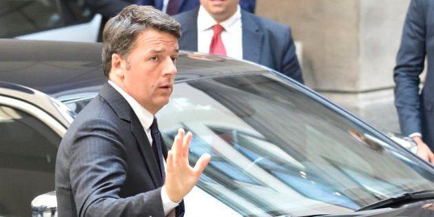 Matteo Renzi al vertice Ue di Bratislava: