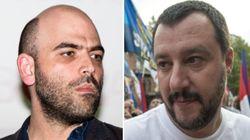Scontro Salvini-Saviano: