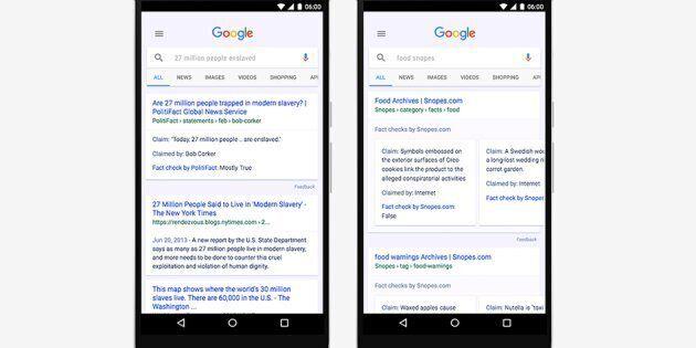 Google contro le fake news: arriva l'etichetta