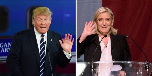 Le strade di Donald Trump e Marine Le Pen si dividono. Lui la ignora, lei lo