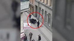 La polizia ferma il sospetto