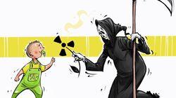 Queste vignette raccontano lo scontro tra innocenza e crudeltà, nell'attacco chimico in