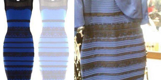 newest 41c0d 1e65d Bianco e oro o blu e nero? Oggi uno studio su 13mila persone ...