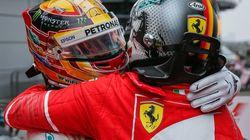 Hamilton-Vettel, un abbraccio tra numeri