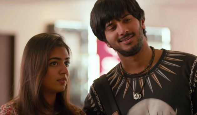 In Bangalore Days (2014), Dulquer's Arjun was an abrasive young man who pushed people away...