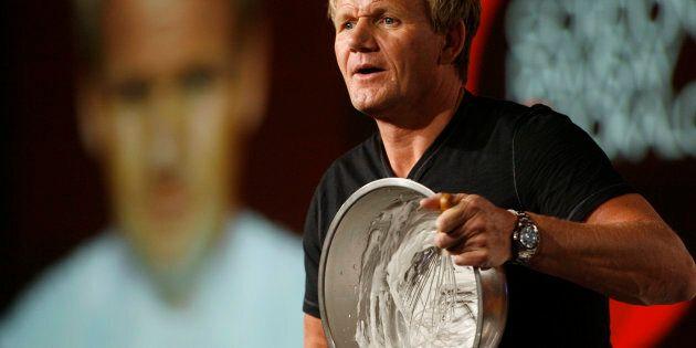 Chef Gordon Ramsay, star of the new