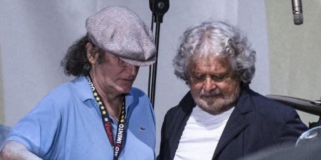 Gianroberto Casaleggio a Beppe Grillo:
