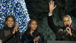 Per l'ultimo Natale alla Casa Bianca gli Obama stanno facendo le cose in