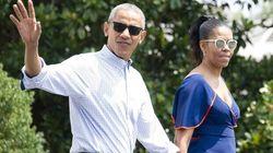 Gli Obama in vacanza sull'isola di Marlon