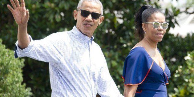 Gli Obama in vacanza sull'isola di Marlon Brando (per scrivere le loro memorie da 60 milioni di dollari