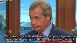 Brexit, Farage si rimangia la promessa: la giornalista si