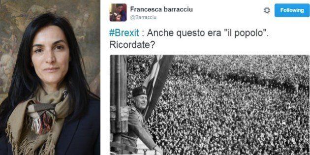 Brexit, la lucida analisi dell'ex sottosegretario Francesca Barracciu: