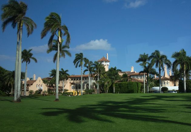 The Mar-a-Lago Club January 1, 2017 at Mar-a-Lago in Palm Beach, Florida. / AFP / DON EMMERT (Photo credit...