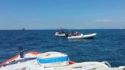 Istruttore e allieva rimangono intrappolati in una grotta nelle acque di Ischia e finiscono la riserva d'ossigeno delle