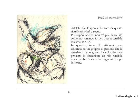 Mena Quinto, affetta da Sla, ha trovato il senso della vita scrivendo lettere con gli