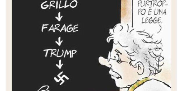 Il Fatto Quotidiano se la prende con la nuova Unità di Staino per una vignetta: