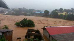 Un fiume di fango travolge la Sierra Leone: oltre 300