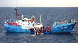 La fuga dal Mediterraneo dell Ong: