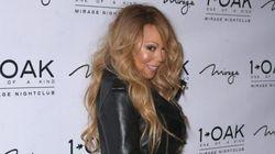 Mariah Carey senza pantaloni e in autoreggenti: l'uscita della cantante lascia senza