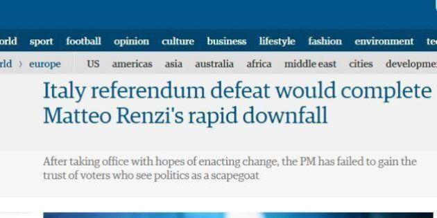 Referendum, attenzione alta dei giornali stranieri. Guardian: