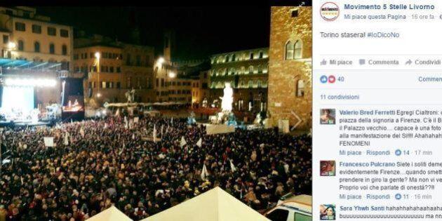 Referendum, M5S Livorno su Facebook: