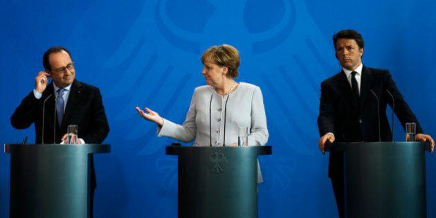 Brexit. Tre leader e due mesi per salvare l'Europa: Merkel, Renzi, Hollande aspettano Londra a settembre....