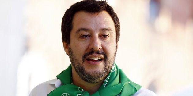 Matteo Salvini avvia la campagna per la