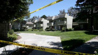 SUNNYVALE, CA - APRIL 24: Sunnyvale police were on scene at the Lincoln Glen apartments where Isaiah J. Peoples lives in Sunnyvale, Calif., on Wednesday, April 24, 2019. Peoples was arrested in an incident where  a car plowed into a crowd of pedestrians at the intersection of El Camino Real and Sunnyvale Avenue, injuring eight people early Tuesday evening. (Photo by Jane Tyska/MediaNews Group/The Mercury News via Getty Images)