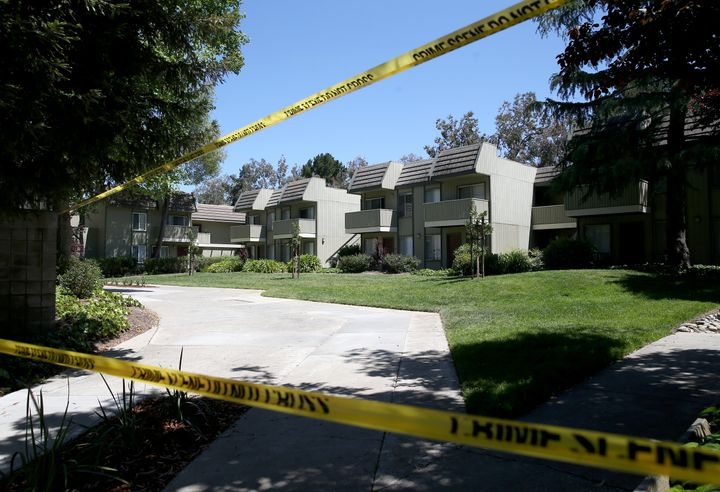 Sunnyvale police were on scene at the Lincoln Glen apartments where Isaiah J. Peoples lives in Sunnyvale, Calif., on Wednesda