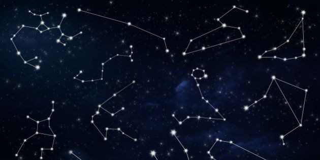 astrological zodiac signs with night