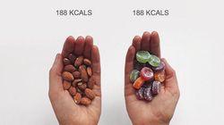 Una fitness blogger vuole rivoluzionare il concetto di calorie mettendo a paragone diversi