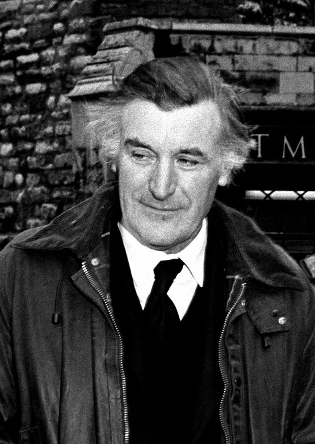 Undated file photo of Ted Hughes, as allegations made by Sylvia Plath that the late poet laureate physically...