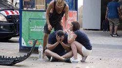 Ragazza italiana testimone a Barcellona: