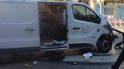 Le prime immagini video del furgone pochi istanti dopo aver travolto la folla su La