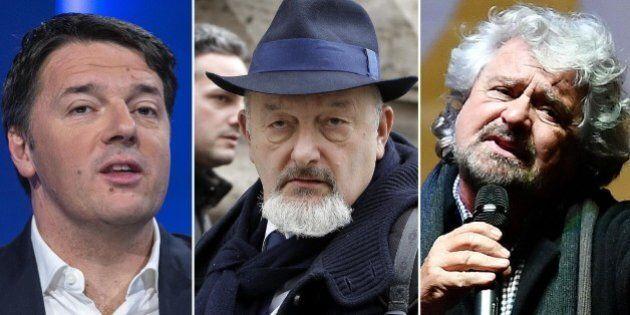 Caso Consip, Matteo Renzi a Beppe Grillo: