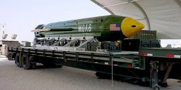 La bomba sganciata da Trump in Afghanistan è un messaggio al mondo.