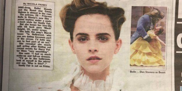 Lo sfogo di Emma Watson:
