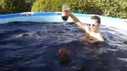 Una piscina di Coca Cola e un secchio di Mentos: l'esperimento è