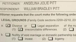 Spuntano i documenti del divorzio tra Angelina e Brad, un patrimonio di circa 500 milioni di