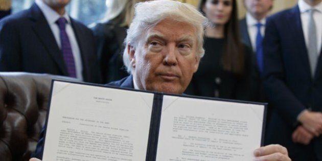 Cosa ci dice la firma a mò di sismogramma di Donald