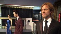 Angelina e Brad divorziano anche al museo: statue separate da Madame