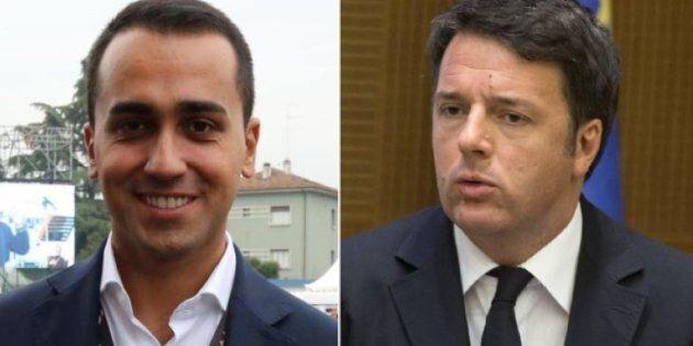 Luigi Di Maio sfida Matteo Renzi al confronto tv. Lo staff dell'ex premier accetta, ma a condizioni