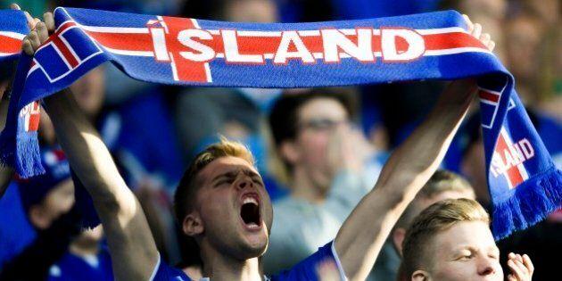 Il 99,8% della popolazione islandese davanti alla tv per la partita con
