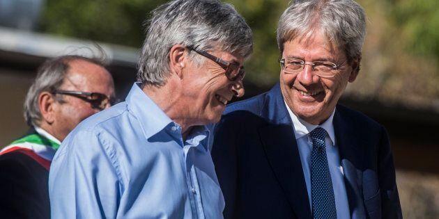 14/08/2017 Arquata del Tronto (AP), il Presidente del Consiglio visita la frazione terremotata di Piedilama...