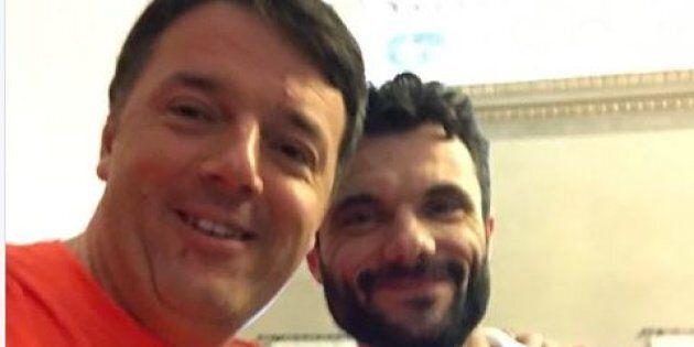 Renzi di corsa a Prato, partecipa alla mezza maratona con il sindaco