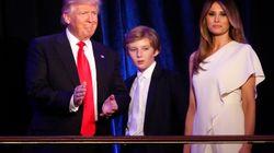 Il debutto di Barron Trump alla Casa Bianca ha messo d'accordo Donald e