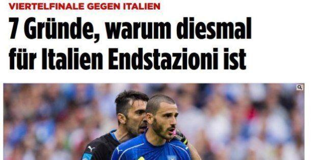 Italia-Germania: per la Bild gli azzurri